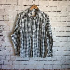 Levi Strauss Shirt, Snap/Button Front,  Modern M